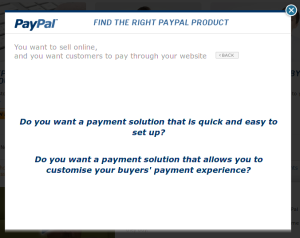 paypal payment experience
